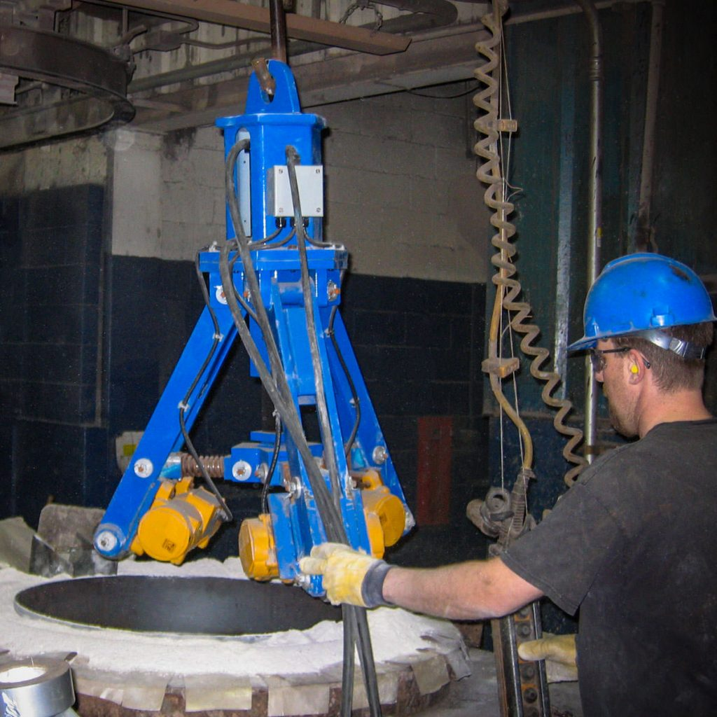Gradmatic Refractory Installation and Vibration System